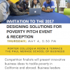 Designing Solutions for Poverty: Students Compete for $20,000 Grand Prize