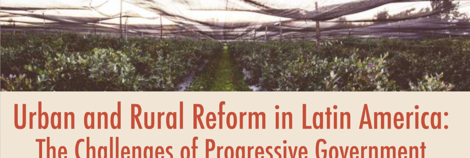 Urban and Rural Reform in Latin America with Renato Balbim – 4/13/18