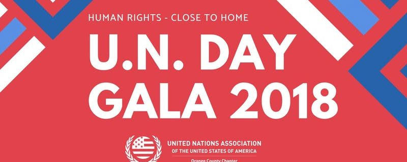 UN Day Gala Celebration:  Human Rights, Close to Home – 10/27/18