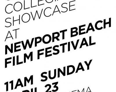 UCI Showcase at Newport Beach Film Festival – 4/27/19