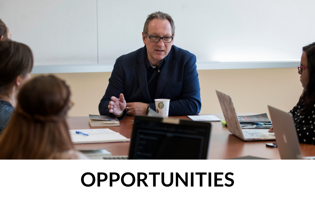 Student Opportunities overview