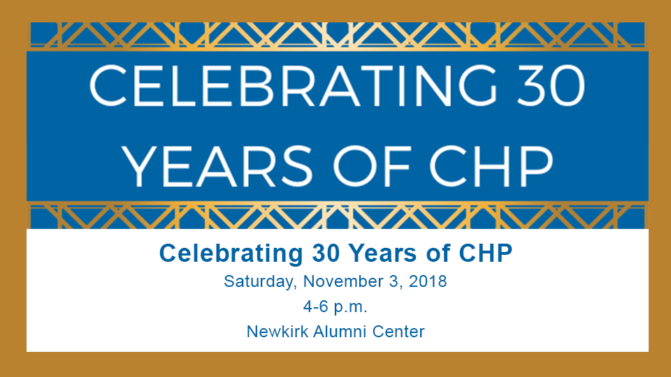 celebrating30yearsofCHP