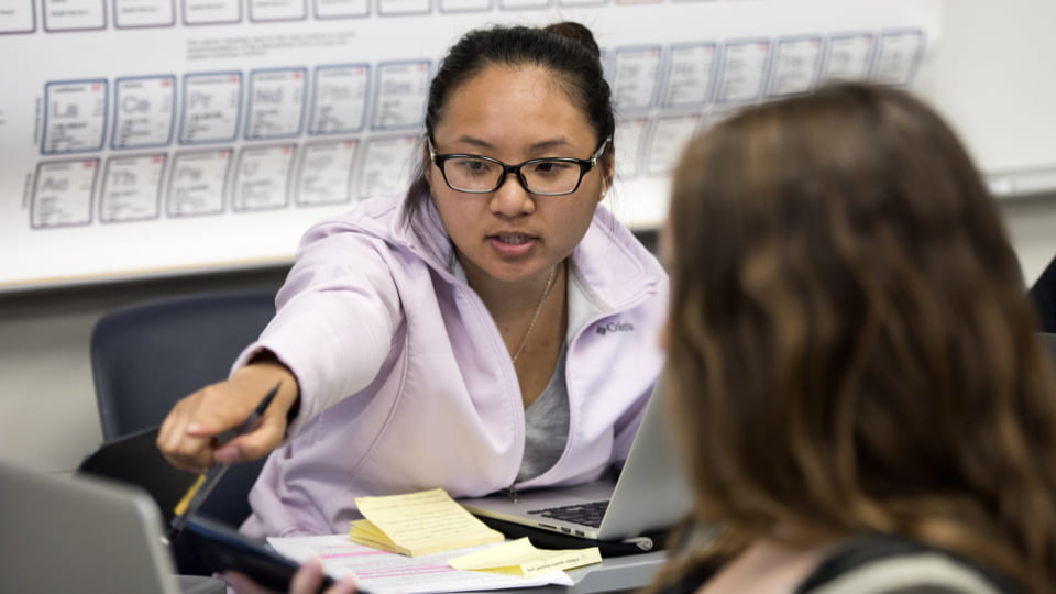 Teaching Excellence and Innovation Grad Fellows Help Facilitate the Shift Back to In-Person Instruction