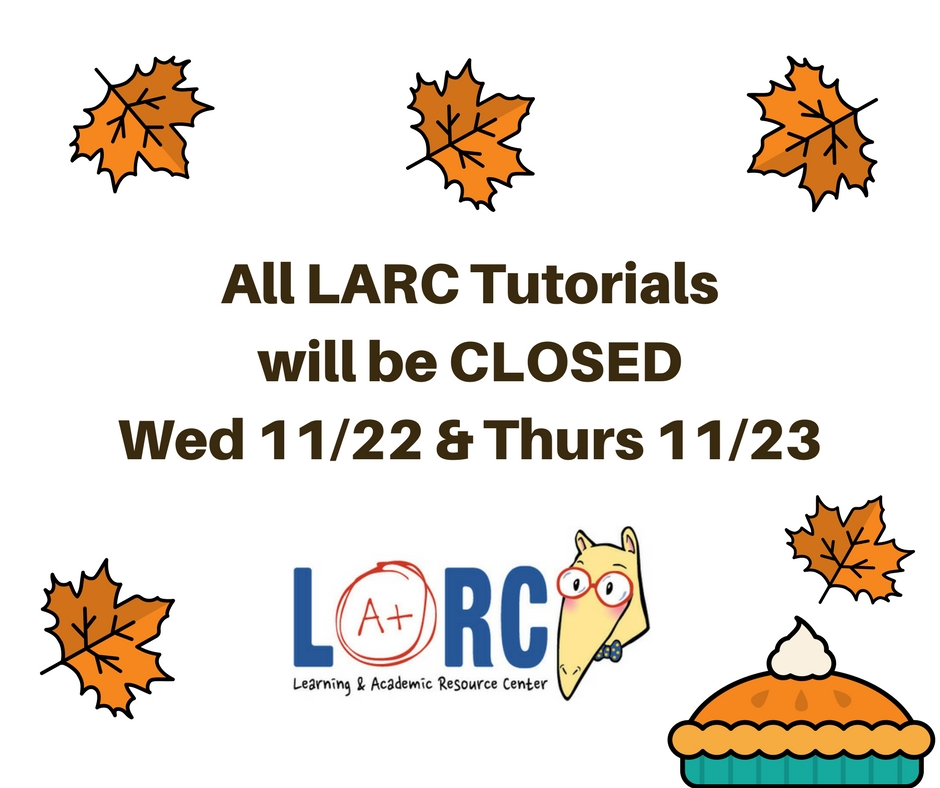 CLOSED for Thanksgiving Wed 11/22 & Thurs 11/23