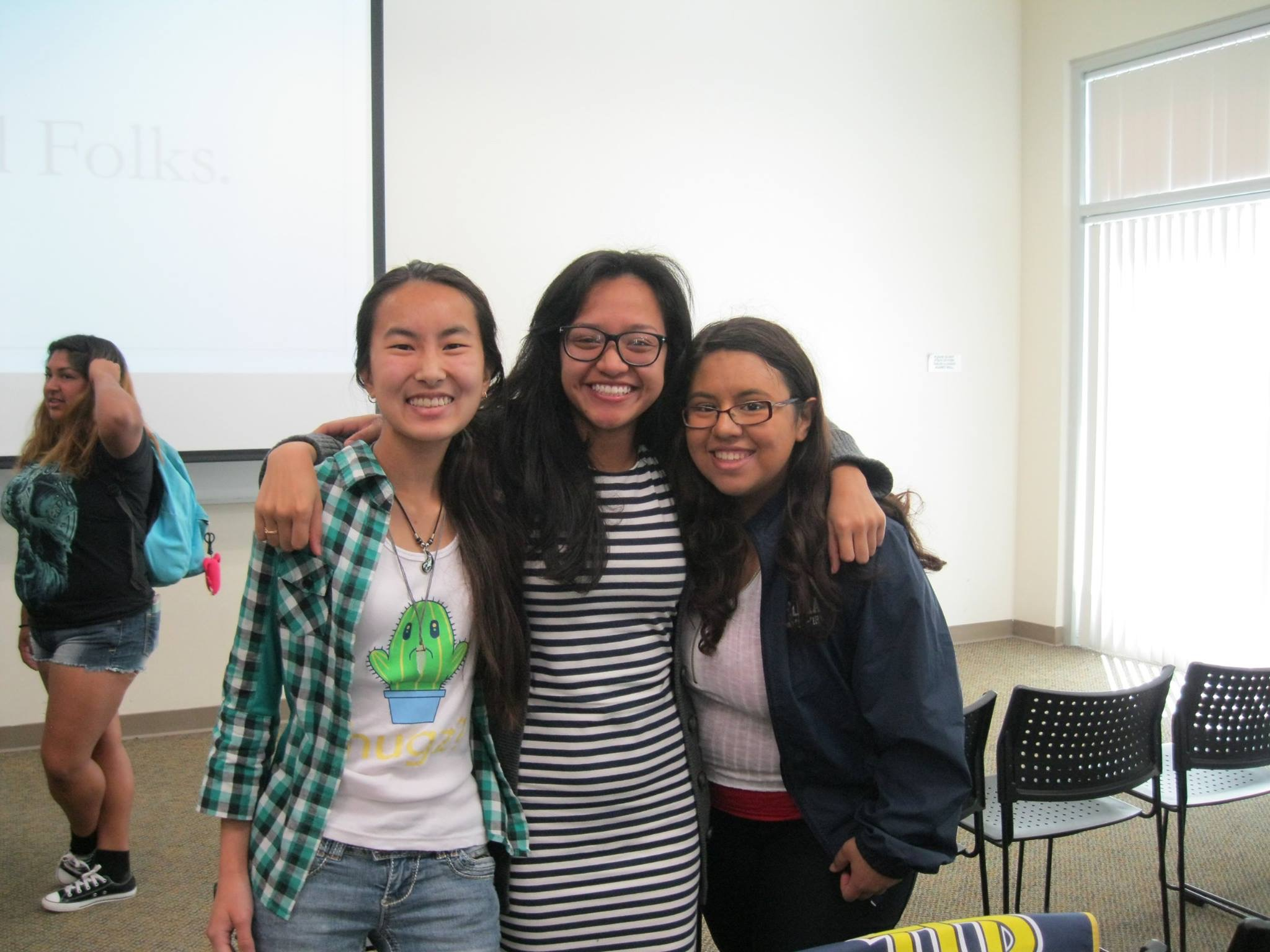 Meeting new TRIO Scholars with TRIO Workshops!