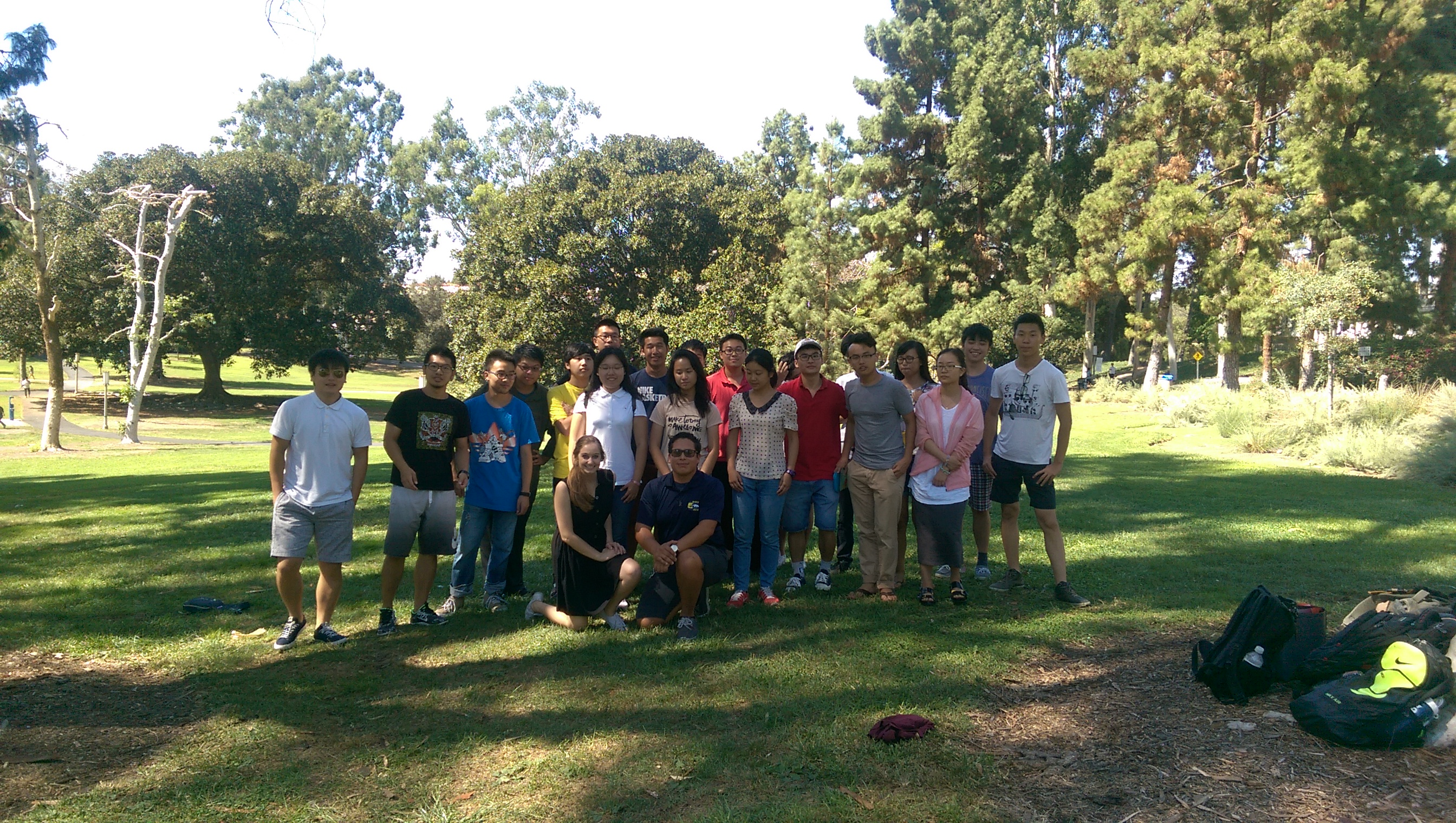 Intl Student - Games in Park Fall 15