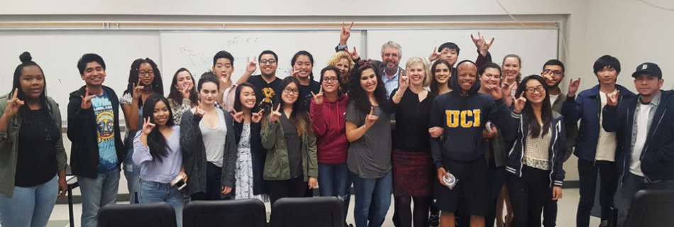 UCI Students Award 70,000 in Funding to Eight Local Nonprofits Through New Experiential Philanthropy Course