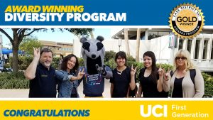 UC Irvine First Generation Faculty Initiative Wins Award for Diversity