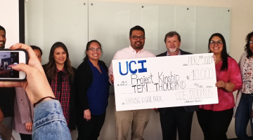 UCI Philanthropy Students Present Awards to Local Nonprofit Organizations