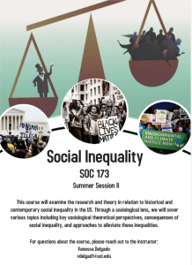 Investigating and Fighting Social Inequality: Spotlight on UCI Summer Session 2020