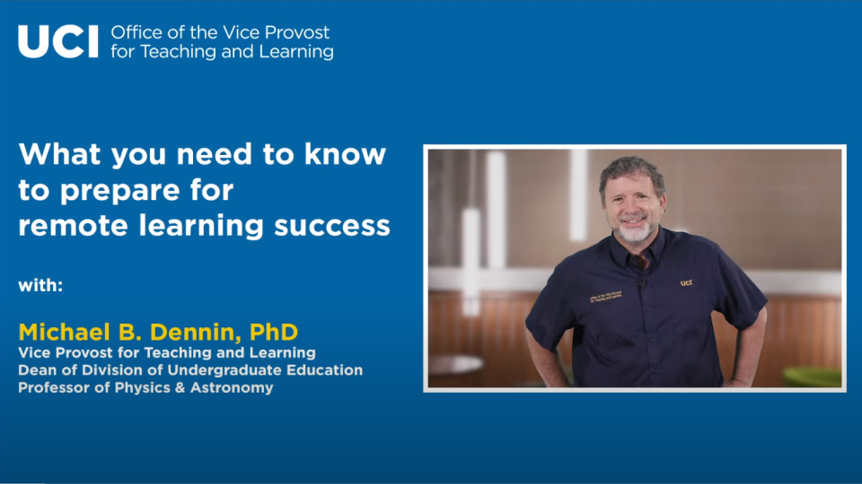 What You Need to Know to Prepare for Remote Learning Success