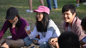 Students at International Students Orientation
