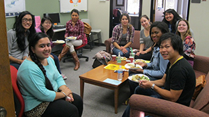 Thanksgiving Potluck in Transfer Student Center